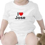 Amo (corazón) a Jose Trajes De Bebé