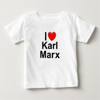 Amo (corazón) a Karl Marx Playera