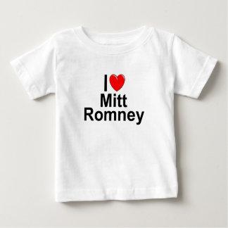 Amo (corazón) a Mitt Romney Playera