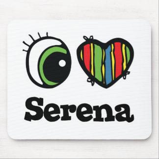 Amo (corazón) a Serena Mousepad