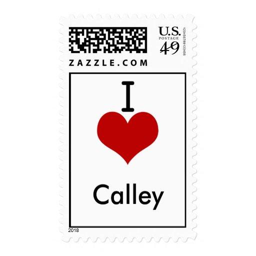 Amo (corazón) Calley Sello