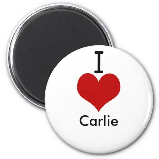 Amo (corazón) Carlie Iman De Frigorífico