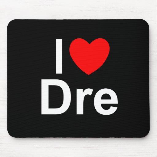 Amo (corazón) Dre Tapetes De Ratón