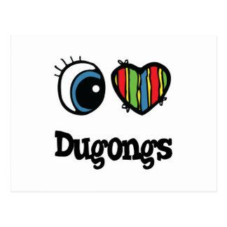 Amo corazón Dugongs