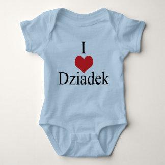 Amo (corazón) Dziadek Tshirts