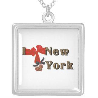 AMO (corazón) el collar de Nueva York