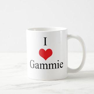 Amo (corazón) Gammie Taza De Café