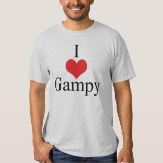 Amo (corazón) Gampy Camisas