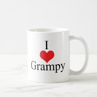 Amo (corazón) Grampy Taza