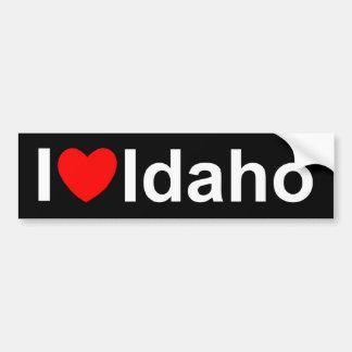 Amo (corazón) Idaho Pegatina Para Auto
