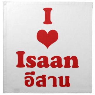 Amo (corazón) Isaan Servilletas