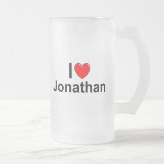 Amo (corazón) Jonatán Taza De Cristal