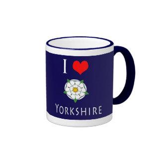 Amo (corazón) la taza de Yorkshire