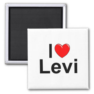Amo (corazón) Levi Imán De Frigorifico