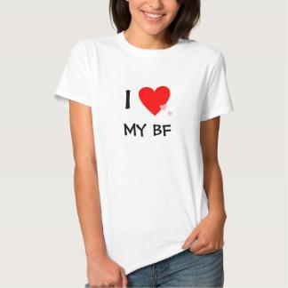 Amo (corazón) mi FB Camisas