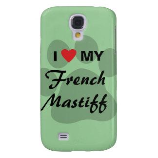 Amo corazón mi mastín francés Pawprint