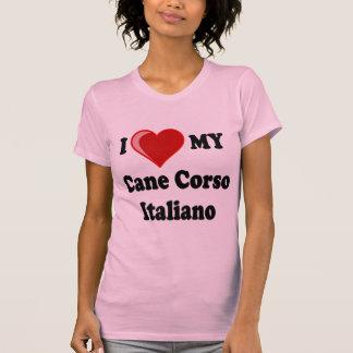 Amo (corazón) mi perro de Corso Italiano del Polera