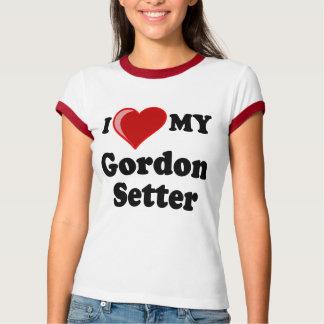 Amo (corazón) mi perro del organismo de Gordon Playera