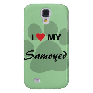 Amo (corazón) mi samoyedo Pawprint
