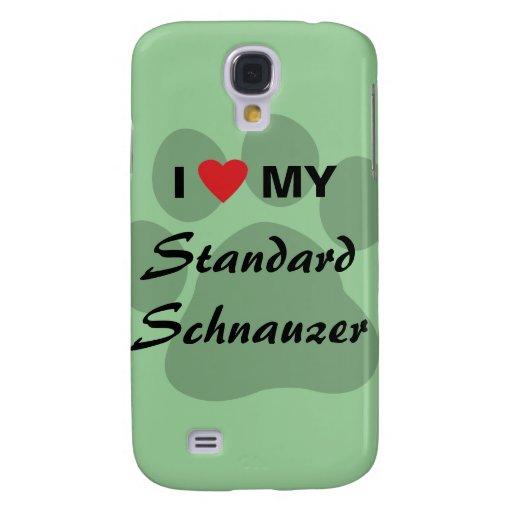 Amo (corazón) mi Schnauzer estándar