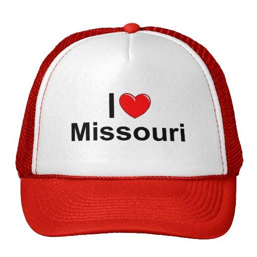 Amo (corazón) Missouri Gorro