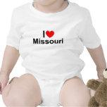 Amo (corazón) Missouri Trajes De Bebé