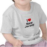 Amo (corazón) New Jersey Camiseta