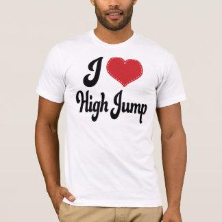Amo (corazón) salto de altura playera