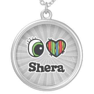 Amo (corazón) Shera Colgante Redondo