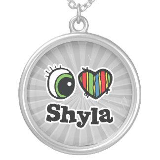 Amo (corazón) Shyla Colgante Redondo