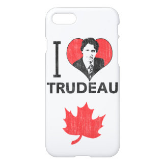Amo (corazón) Trudeau Funda Para iPhone 7