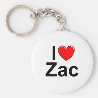 Amo (corazón) Zac Llavero Redondo Tipo Pin