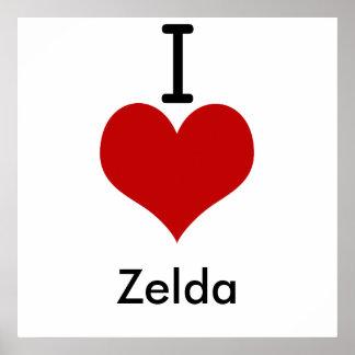 Amo (corazón) Zelda Impresiones