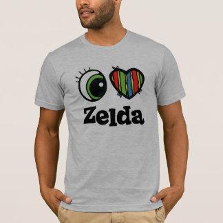 Amo (corazón) Zelda Playera