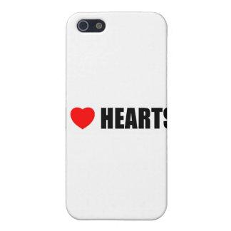 Amo corazones iPhone 5 fundas