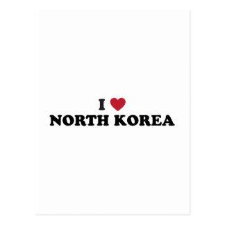 Amo Corea del Norte Postal