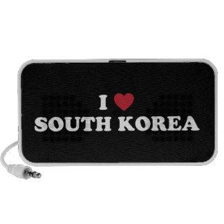 Amo Corea del Sur iPhone Altavoces