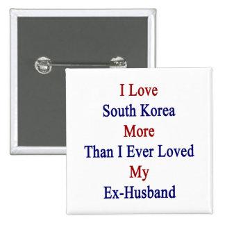 Amo Corea del Sur más que amé nunca a mi ex Hu Pin