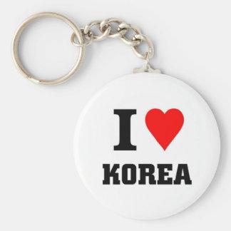 Amo Corea Llavero