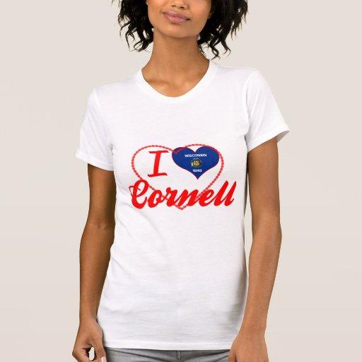 Amo Cornell, Wisconsin Camiseta