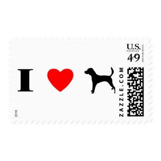 Amo corredores de cross sellos postales