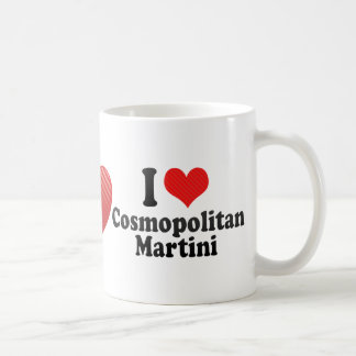 Amo cosmopolita+Martini Tazas