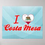 Amo Costa Mesa, California Posters