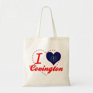 Amo Covington, Indiana Bolsa Lienzo