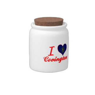Amo Covington, Indiana Jarras Para Caramelos