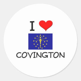Amo COVINGTON Indiana Etiqueta