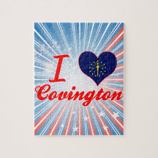 Amo Covington, Indiana Rompecabeza Con Fotos