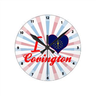 Amo Covington, Indiana Relojes De Pared
