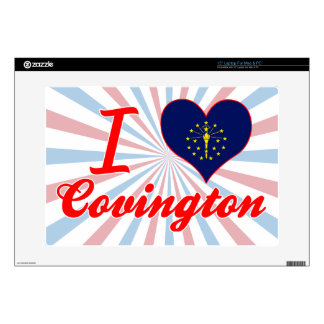 Amo Covington, Indiana Portátil Calcomanía