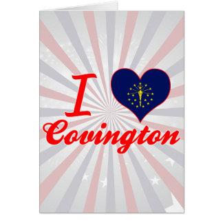 Amo Covington, Indiana Felicitacion